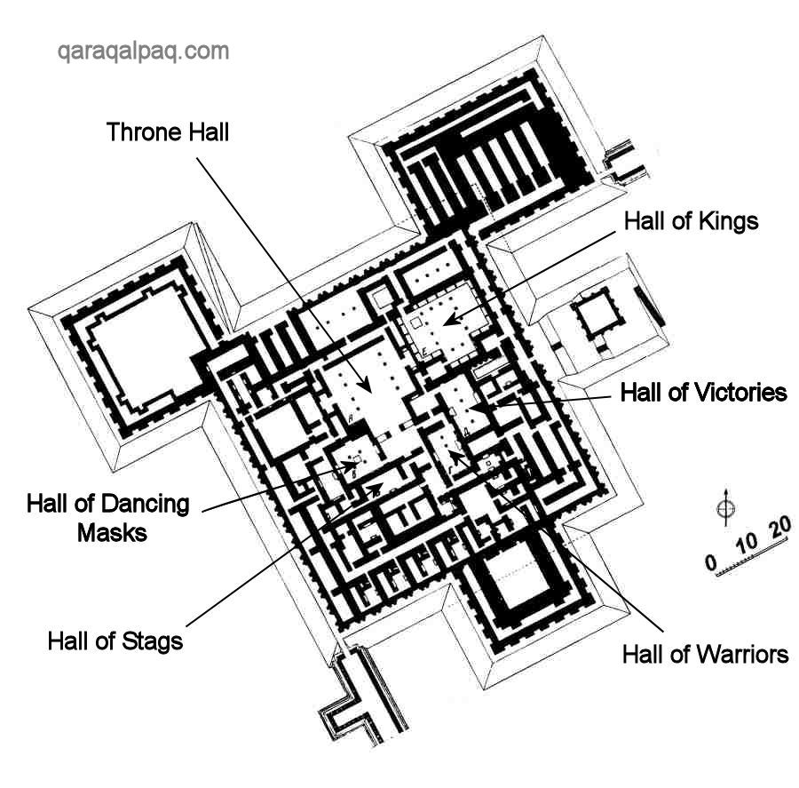Plan of the High Palace