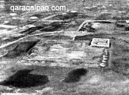 Aerial photograph of Pil Qala
