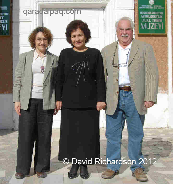 David and Sue with Svetlana Nurabullaeva