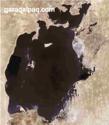 The Aral Sea in 1973