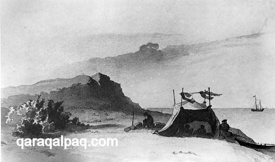 The Aral Sea in 1848