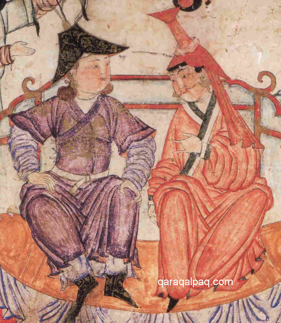 Mongol enthronement