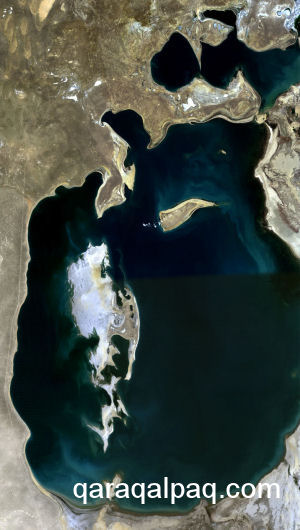 The Aral Sea in 1989