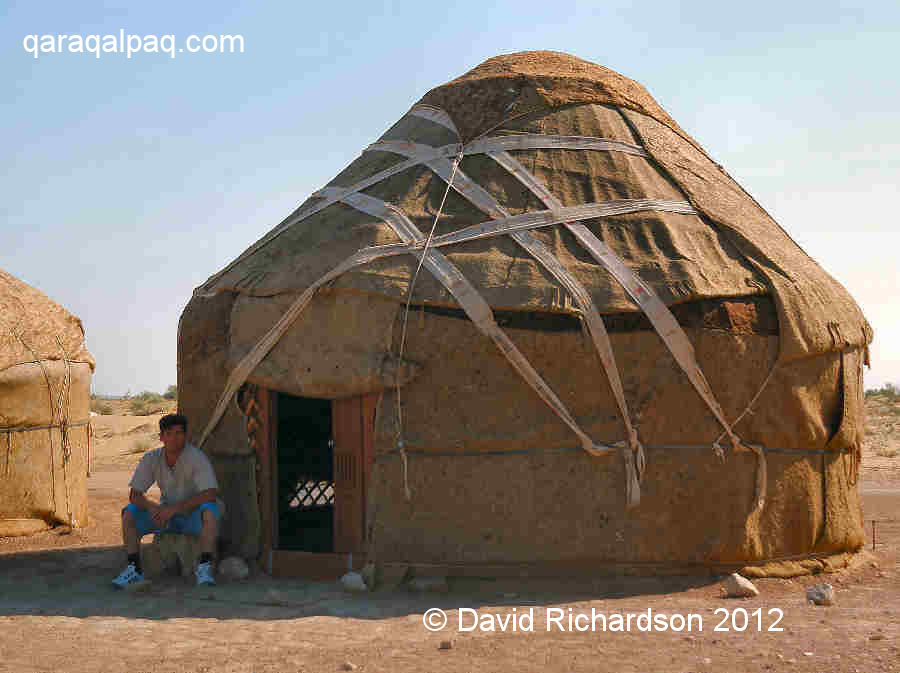 Yurt at Ayaz qala